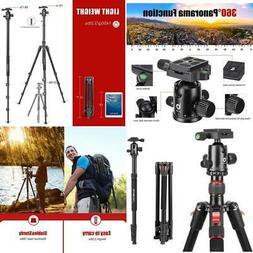 70 Inches Aluminum Lightweight Camera DSLR Tripod Monopod 36