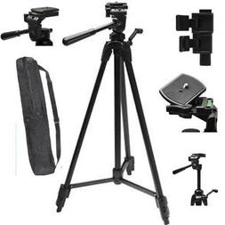 """72"""" PROFESSIONAL LIGHTWEIGHT TRIPOD FOR CANON EOS REBEL 5D 6"""