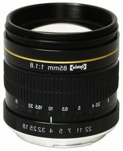 Opteka 85mm Portrait Lens for Nikon D5 D4 D810 D750 D500 D72