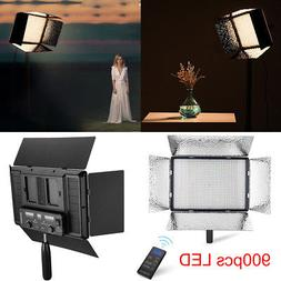 900 LED Light Panel Stand Kit Photography Video Studio Light