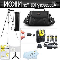Accessory Kit For Nikon Coolpix B500, L330, L340, L120, L310