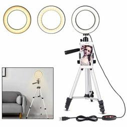 "B-Land 5.7"" Ring Light with Tripod Stand for YouTube Video"