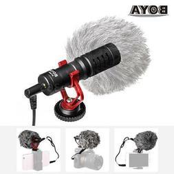 BOYA BY-MM1 3.5mm Video Mic Microphone Condensor for Nikon C