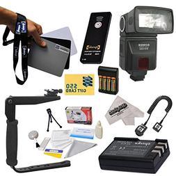 Bower SFD728 Autofocus TTL Flash Kit for The Nikon D40 D40x