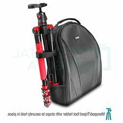 Camera Backpack Bag for DSLR Camera,Lightweight Soft Nylon,