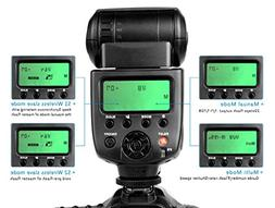 CameraPlus- CPM580 2.1'' LCD display Speedlite Flash  with T