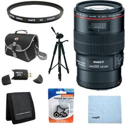 Canon EF 100mm f/2.8L IS USM 1-to-1 Macro Lens for Canon Dig