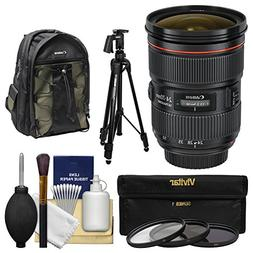 Canon EF 24-70mm f/2.8 L II USM Zoom Lens with Canon Backpac