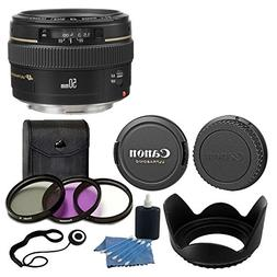 Canon EF 50mm f/1.4 USM Standard & Medium Telephoto Lens for
