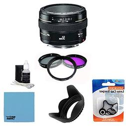 Canon EF 50mm f1.4 USM Standard & Medium Telephoto Lens for