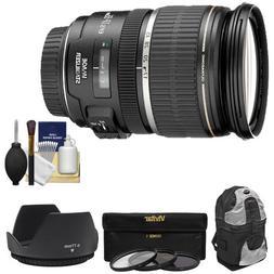 Canon EF-S 17-55mm f/2.8 IS USM Zoom Lens + Backpack + 3 UV/
