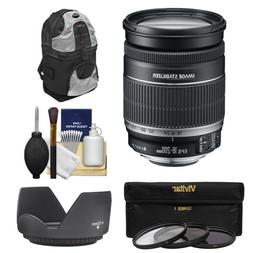 Canon EF-S 18-200mm f/3.5-5.6 IS Zoom Lens with Case + 3 UV/