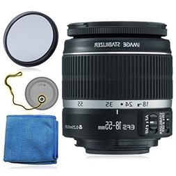 Canon EF-S 18-55mm f/3.5-5.6 IS II Lens  + AUD Essential Acc