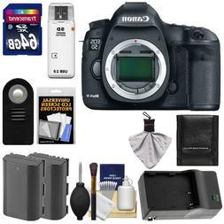 Canon EOS 5D Mark III Digital SLR Camera Body with 64GB Card