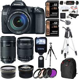 Canon EOS 70D Digital SLR Camera + 18-135mm IS STM Lens + EF