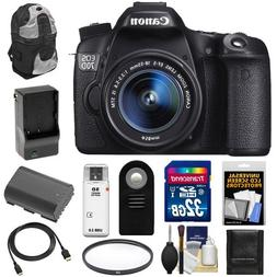 Canon EOS 70D Digital SLR Camera & EF-S 18-55mm IS STM Lens