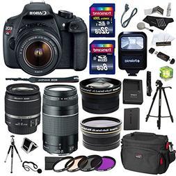 Canon EOS Rebel T5 18MP Digital SLR Camera, EF-S 18-55mm IS