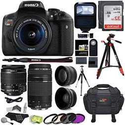 Canon EOS Rebel T6i 24.2 MP Digital SLR Camera 18-55mm STM L