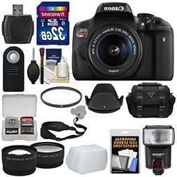 Canon EOS Rebel T6i Wi-Fi Digital SLR Camera & EF-S 18-55mm