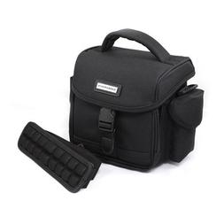 CaseCrown Air Cell Lined Case with Shoulder Strap for Canon