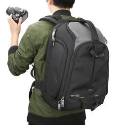 ad2f44e527 DSLR Camera Backpack Evecase DSLR Camera   15.6 inch Laptop