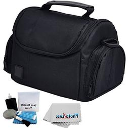 Deluxe Soft Padded Medium Bag For Digital SLR Camera Lens &