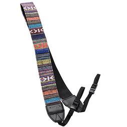 Eggsnow Camera Shoulder Neck Strap Vintage Belt for All DSLR