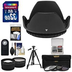 Essentials Bundle for Nikon D3200, D3300, D5200, D5300 & D55