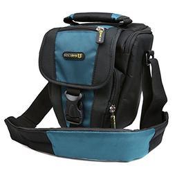 DSLR Camera Case Evecase Digital SLR Camera Bag with Shoulde