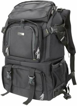 Evecase Extra Large Professional DSLR Camera & Laptop Travel