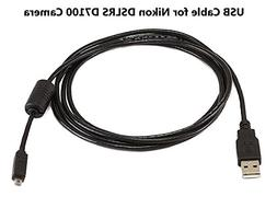 Excelshots Compatible Nikon D7100 USB Cable Cord for Nikon D
