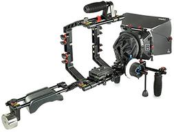 FILMCITY DSLR Camera Cage Shoulder Mount Rig Kit  with Follo