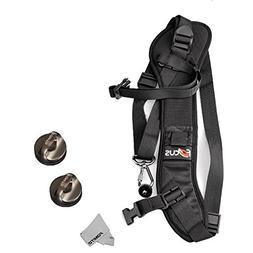 Fomito Quick Rapid Shoulder Sling Belt Neck Strap & 2pcs Scr