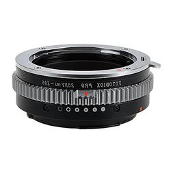 Fotodiox Pro Lens Mount Adapter - Sony Alpha A-Mount  DSLR L