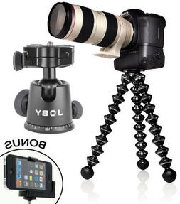 GorillaPod Focus Flexible Tripod with Ball Head Bundle For M