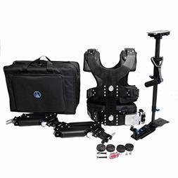 HR 2-8KG  Carbon FiberStabilizer Sled With Dual Arm, Vest, S