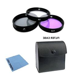 High Definition UV/CPL/FLD Filter Lens Kit For: Sony SAL7020