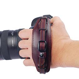 IMZ Leather Hand Grip, Beautiful Crafted & Unique Handmade W