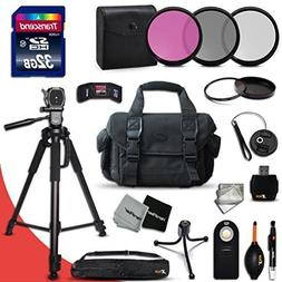 Ideal 21 Piece Accessory Kit for Nikon D5500, Nikon D750, D5