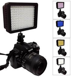 Julius Studio Video Light LED 160 Dimmable Ultra High Power