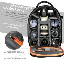 K&F Concept DSLR SLR Camera Backpack Bag Case Lightweight Wa