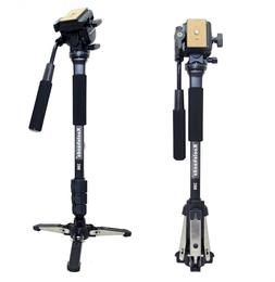 Koolehaoda Professional Camera Aluminium Monopod Fluid Video