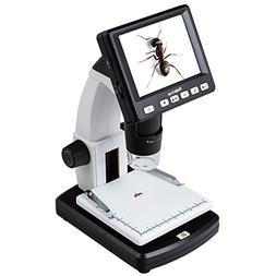 "Koolertron 3.5"" LCD Digital Microscope with 5MP Image Sensor"