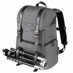 Large Camera Backpack Bag Nylon Laptop Rucksack for Nikon Ca