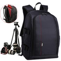 Large Camera Backpack Bag for Canon Nikon DSLR & Mirrorless