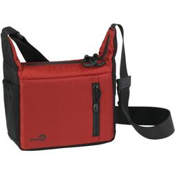 Lowepro - Streamline 100 Camera Bag - Black/red