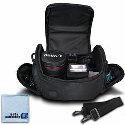 Medium Soft Padded Camera Equipment Bag / Case for Nikon, Ca
