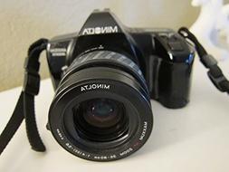 Minolta Maxxum 3000i 35mm SLR Camera 35-80mm f/4.5-5.6 AF Le