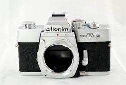 Minolta SRT 102 manual focus film SLR camera body only