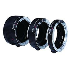 Movo Photo AF Macro Extension Tube Set for Canon EOS DSLR Ca